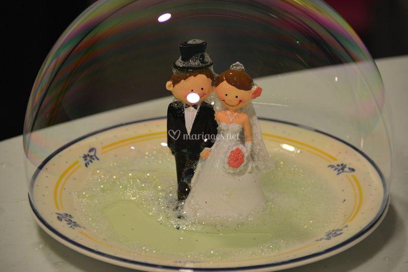Mariés sous bulle