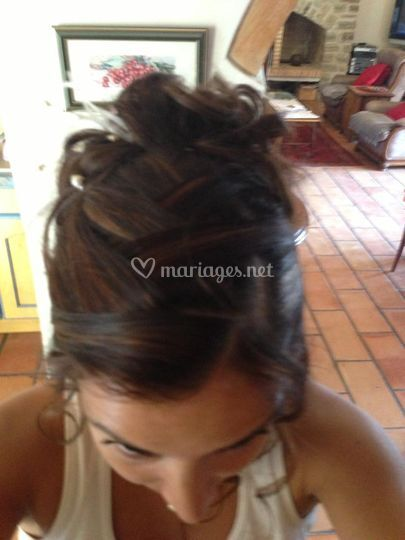 Coiffure jour mariage