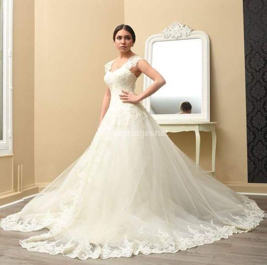 Robe de mariée Glams Dent