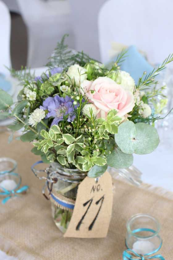 bouquet de table de la fontaine fleurie | photo 16