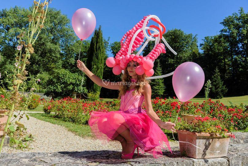 Chapeaux en ballons ARTS