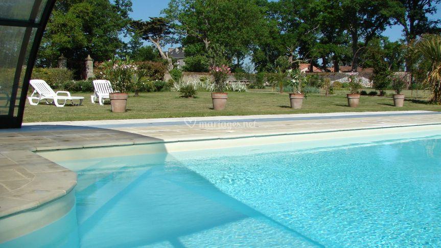 Jardin Clos - piscine