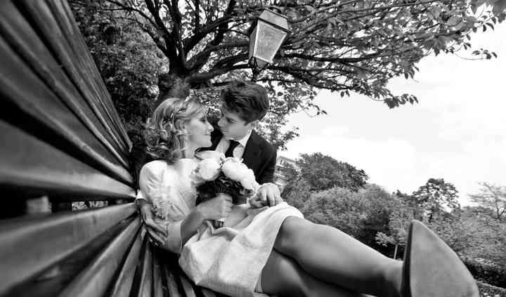 Pose mariés