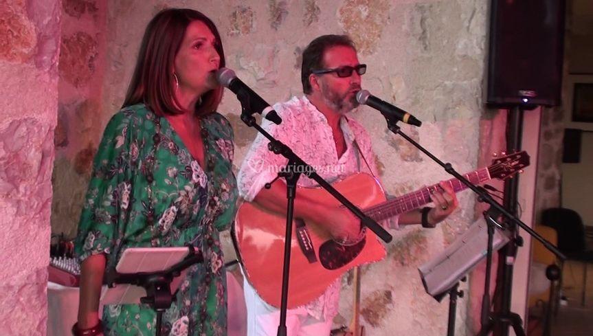 Le duo musique cocktail