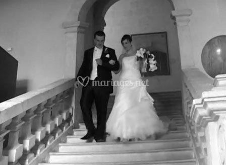 Sortie des mariées
