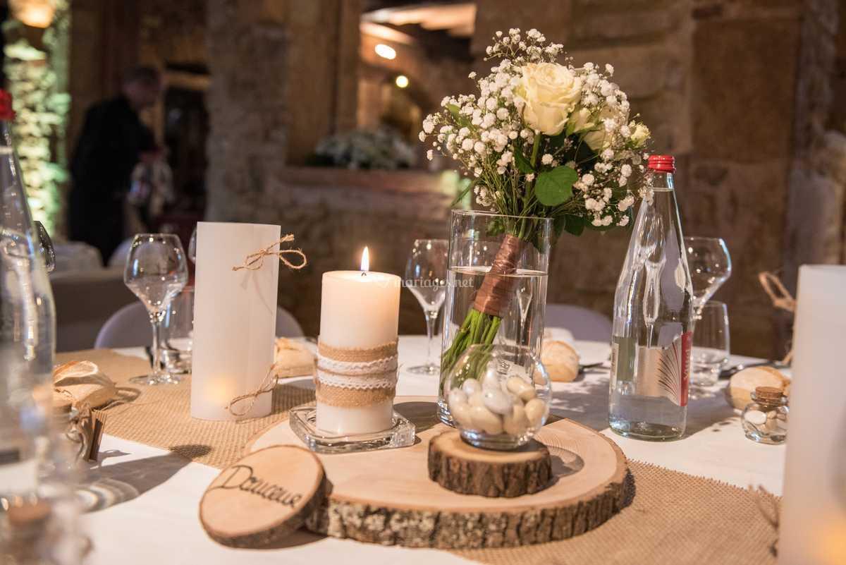 Deco table bois