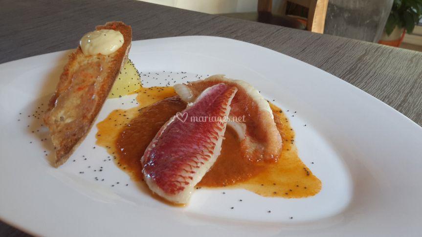Bouillabaisse Rascasse Rouget