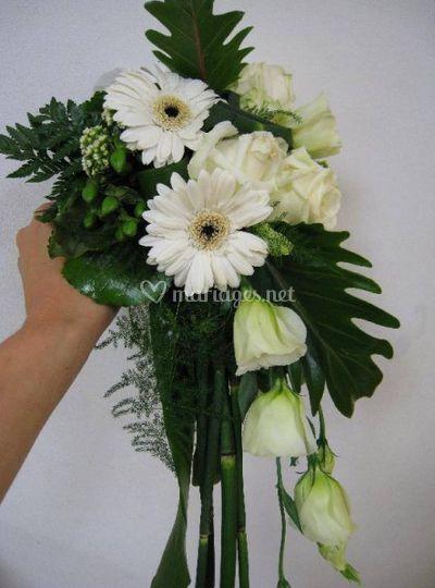 Bouquet plongeant