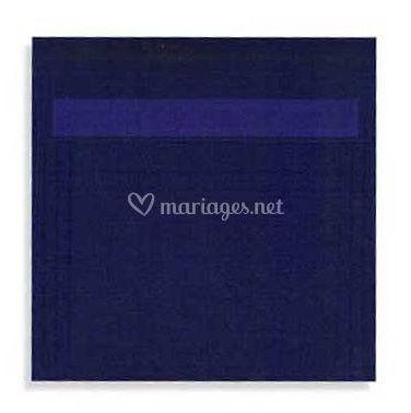 Enveloppe papier calque indigo