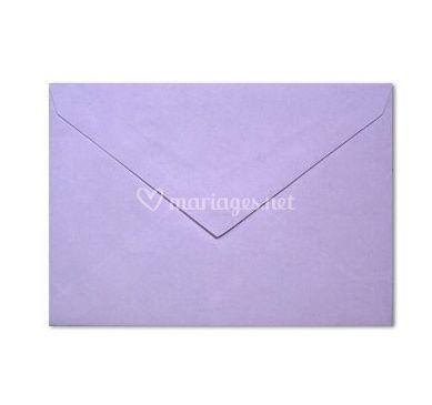 Enveloppe violette