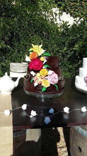 Choco fleurs