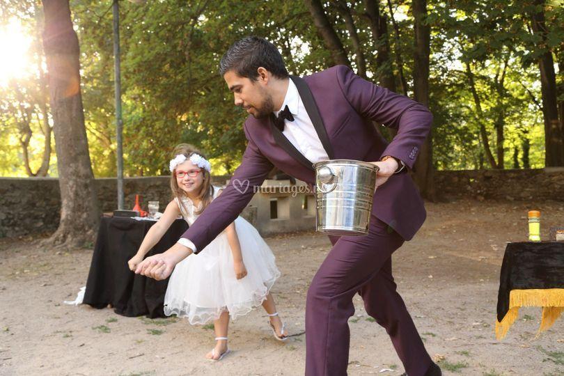 Spectacle de magie mariage