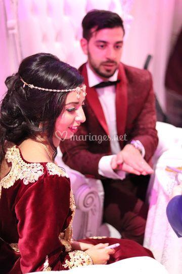 Participation des mariés