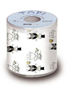 Papier toilette mariage de version chic photos - Papier toilette mariage ...