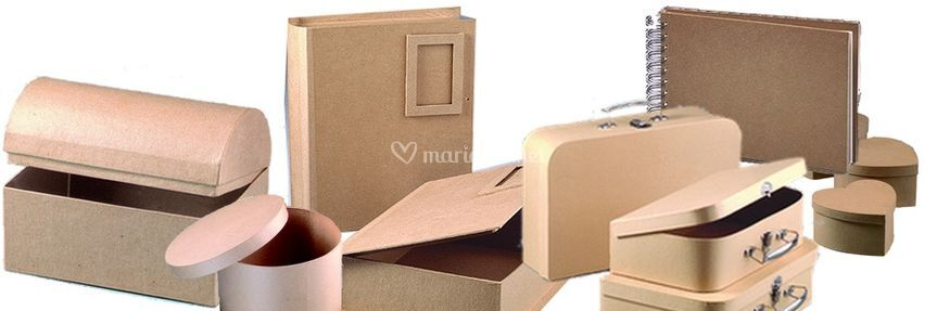 Des bo tes en carton d corer de place aux loisirs photos for Boite carton a decorer