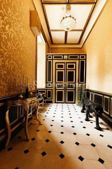 Hall Château d'Amenon
