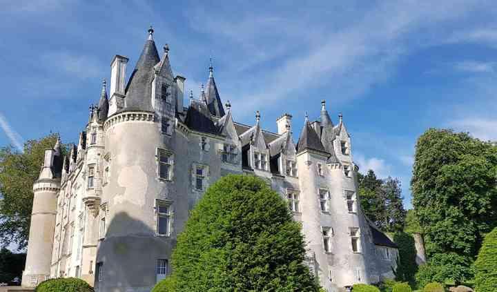 Vue nord du château
