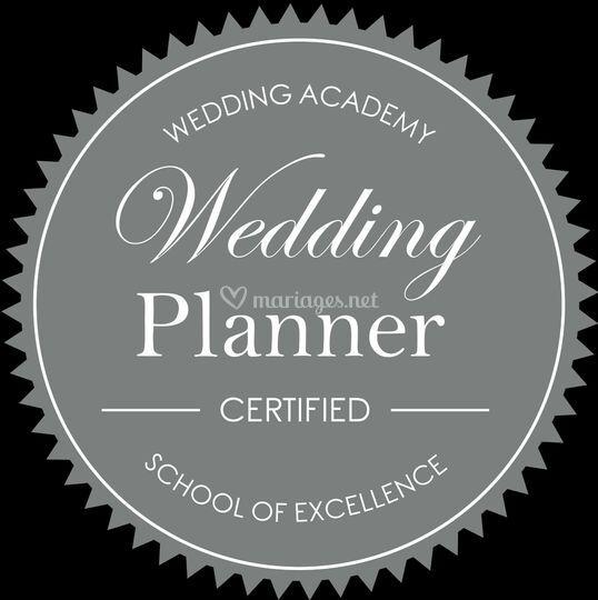 Wedding Planner certifié