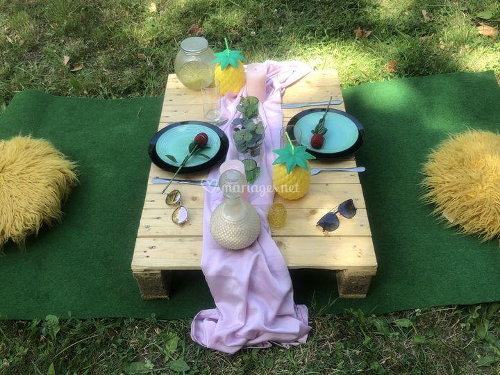 Table pour deux