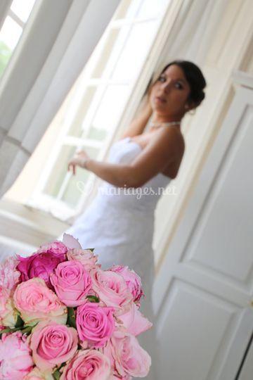 Photo mariée préparation