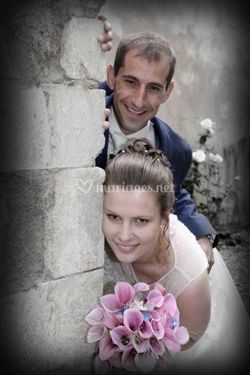 Les mariés se cachent ?