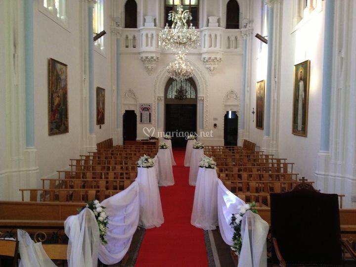 K k d coration - Decoration eglise mariage ...