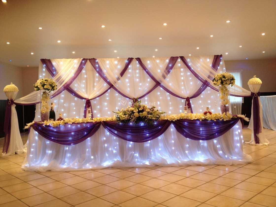 Top Table d'honneur des mariés de K&K Décoration | Photo 3 ML27