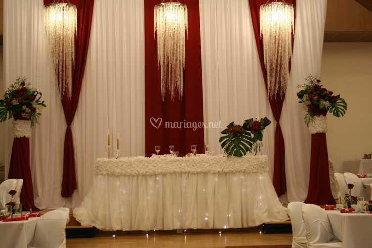 Célèbre Table d'honneur des mariés de K&K Décoration | Photo 1 OP66
