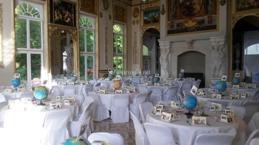Le repas de mariage