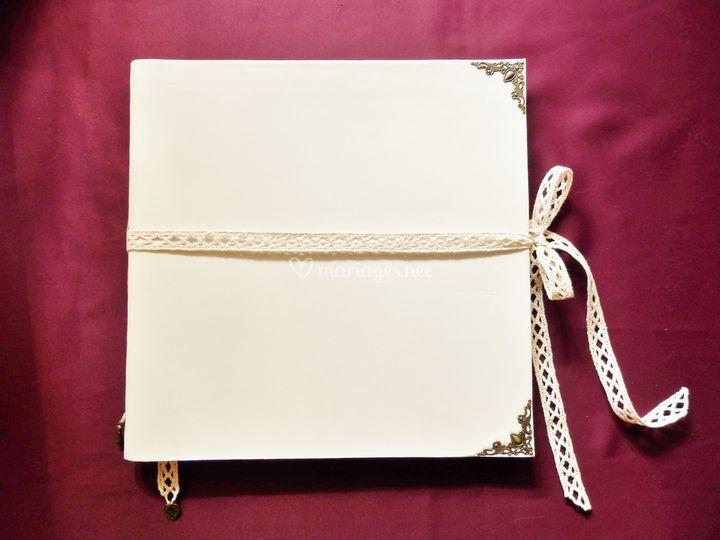 """Livre d'or """"Romantique"""""""