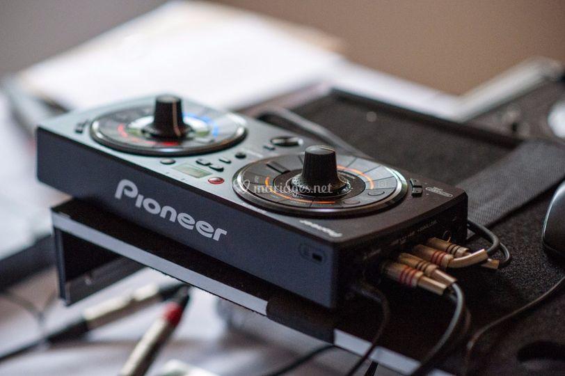 DJ VTR 78 Boîte a effets
