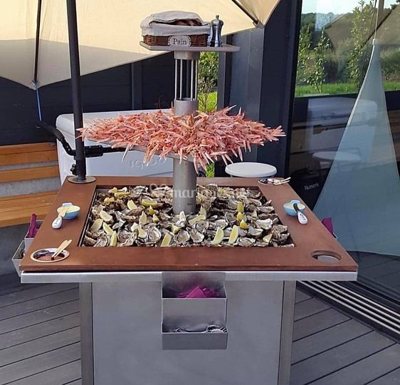 Huîtres et fruits de mer