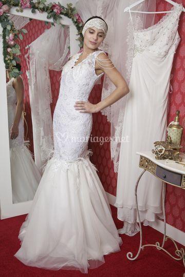 Robe de mariée sirène Yvelines