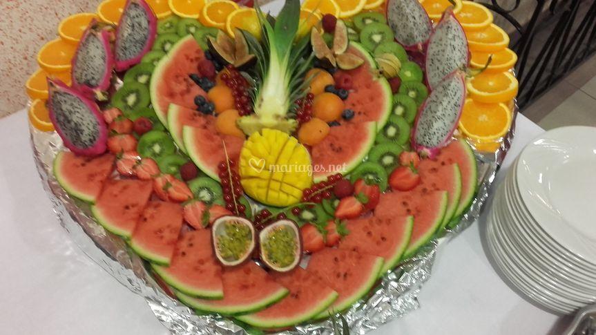 Cœur de fruits