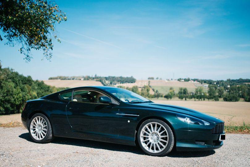Location Aston Martin DB9 et BMW