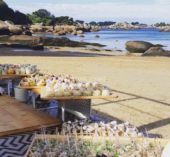 Cocktail sur la plage