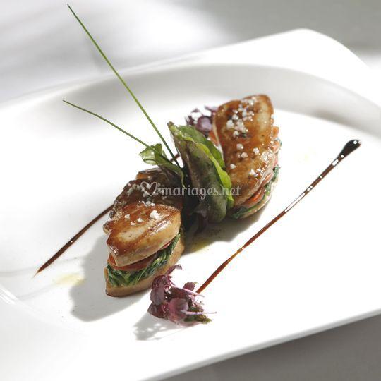 Fois gras poêle