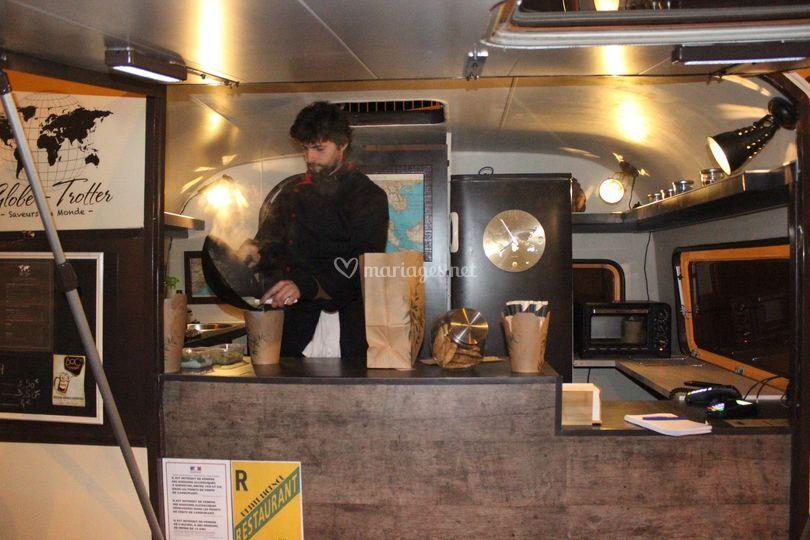 Globe-Trotter food truck