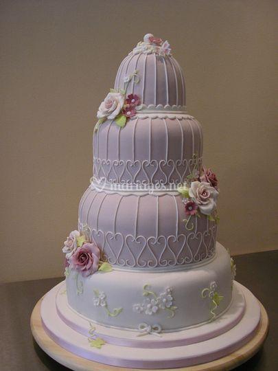 Lysianne - Wedding Cake, Gâteau