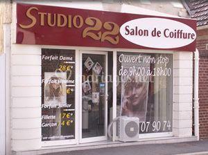 Studio 22 for Salon de coiffure levallois