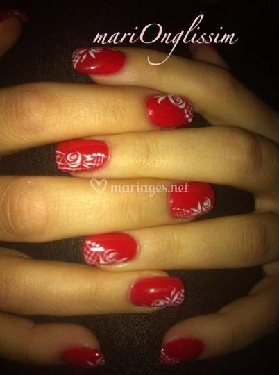 Extensions + couleur +nail art