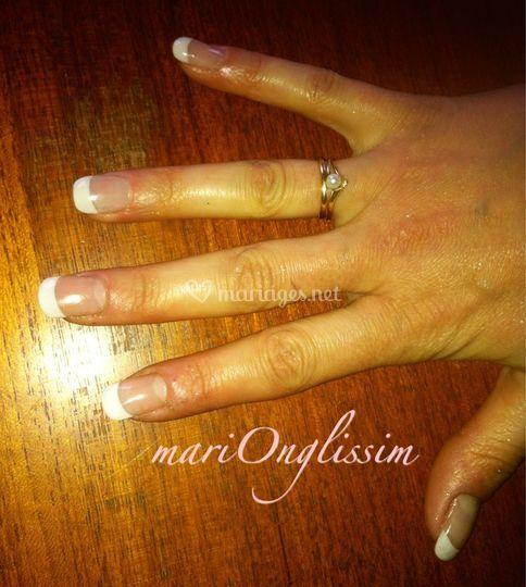Gainage d'ongles naturels