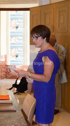 Marlène Cormier - Officiante