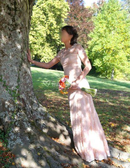 Création robe foureau sur-mesu