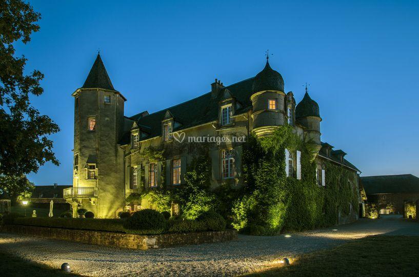 Château de Labro - Nuit