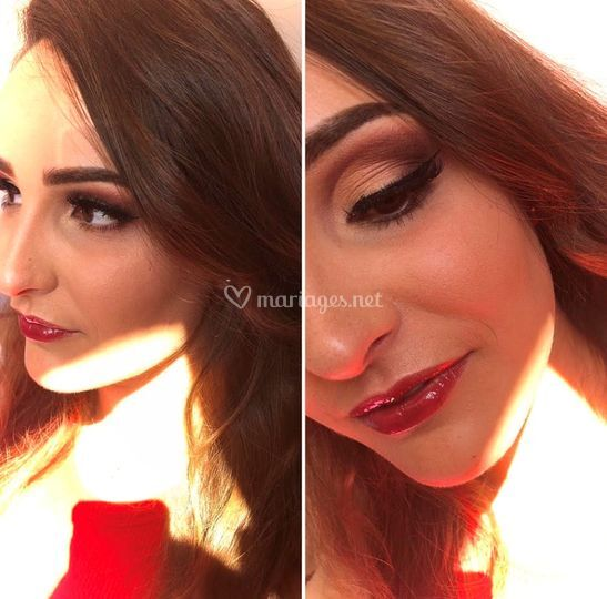 Maquillage Mariée libanais