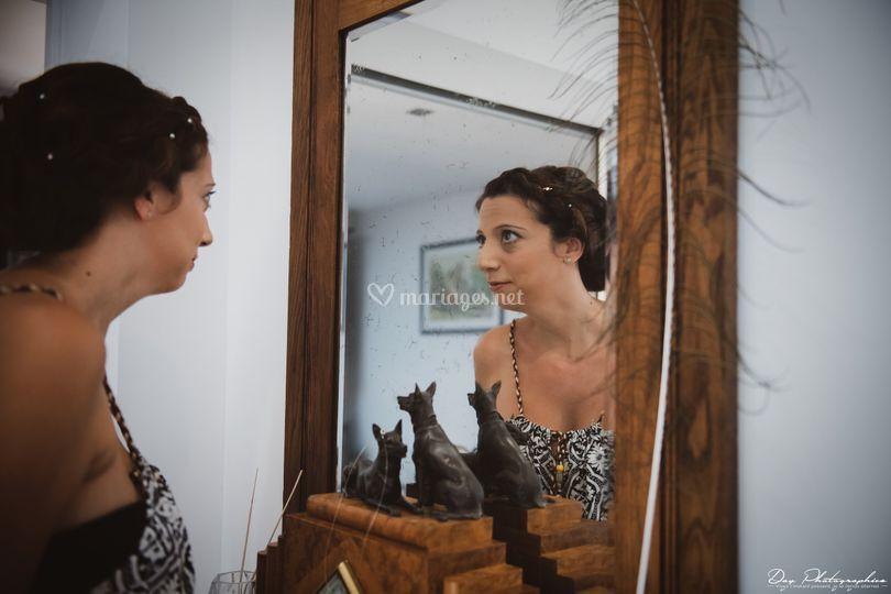 Découverte dans le miroir