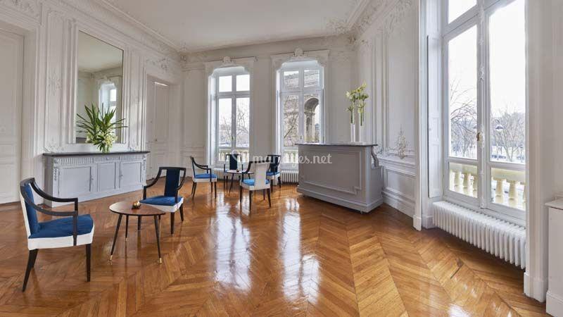 Salle mariage Paris vue