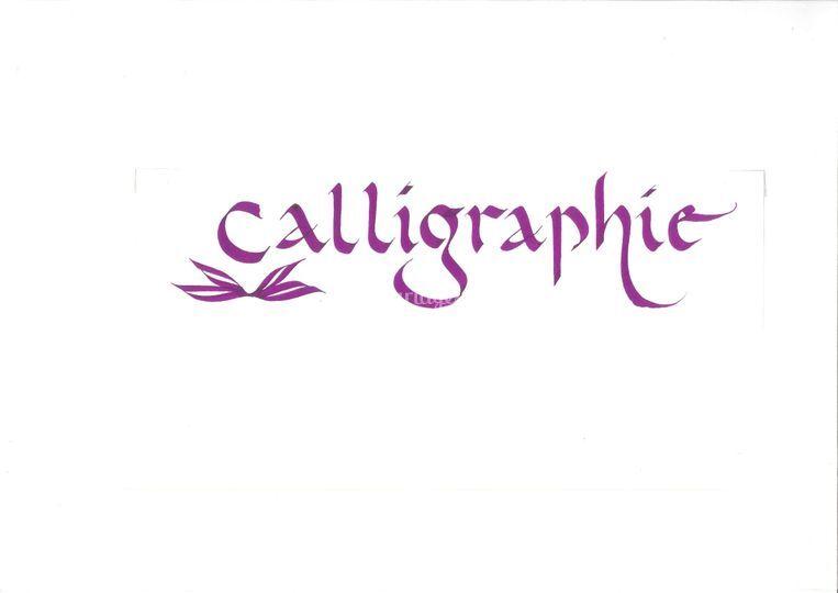 Bernard Vanmalle - Calligraphies de Mariage