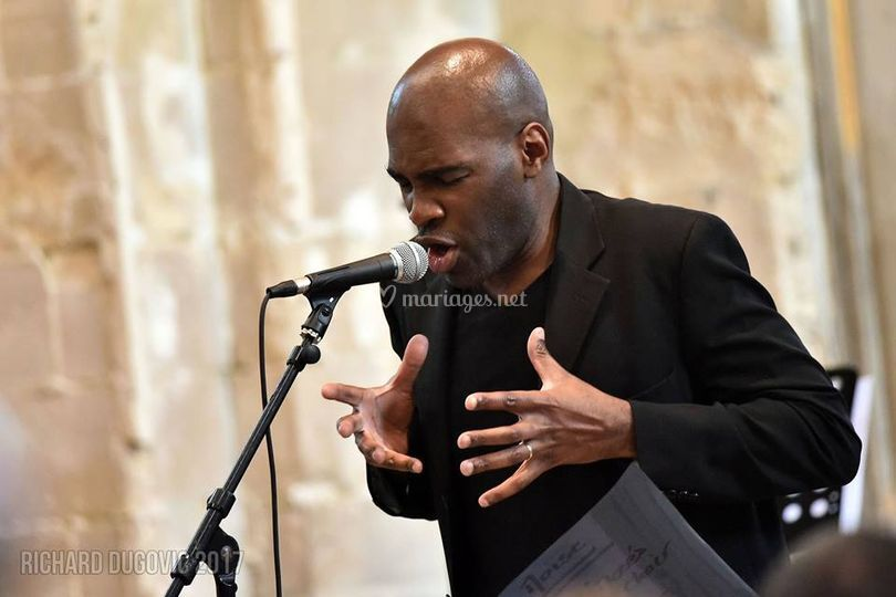 Mps events, chanteur gospel
